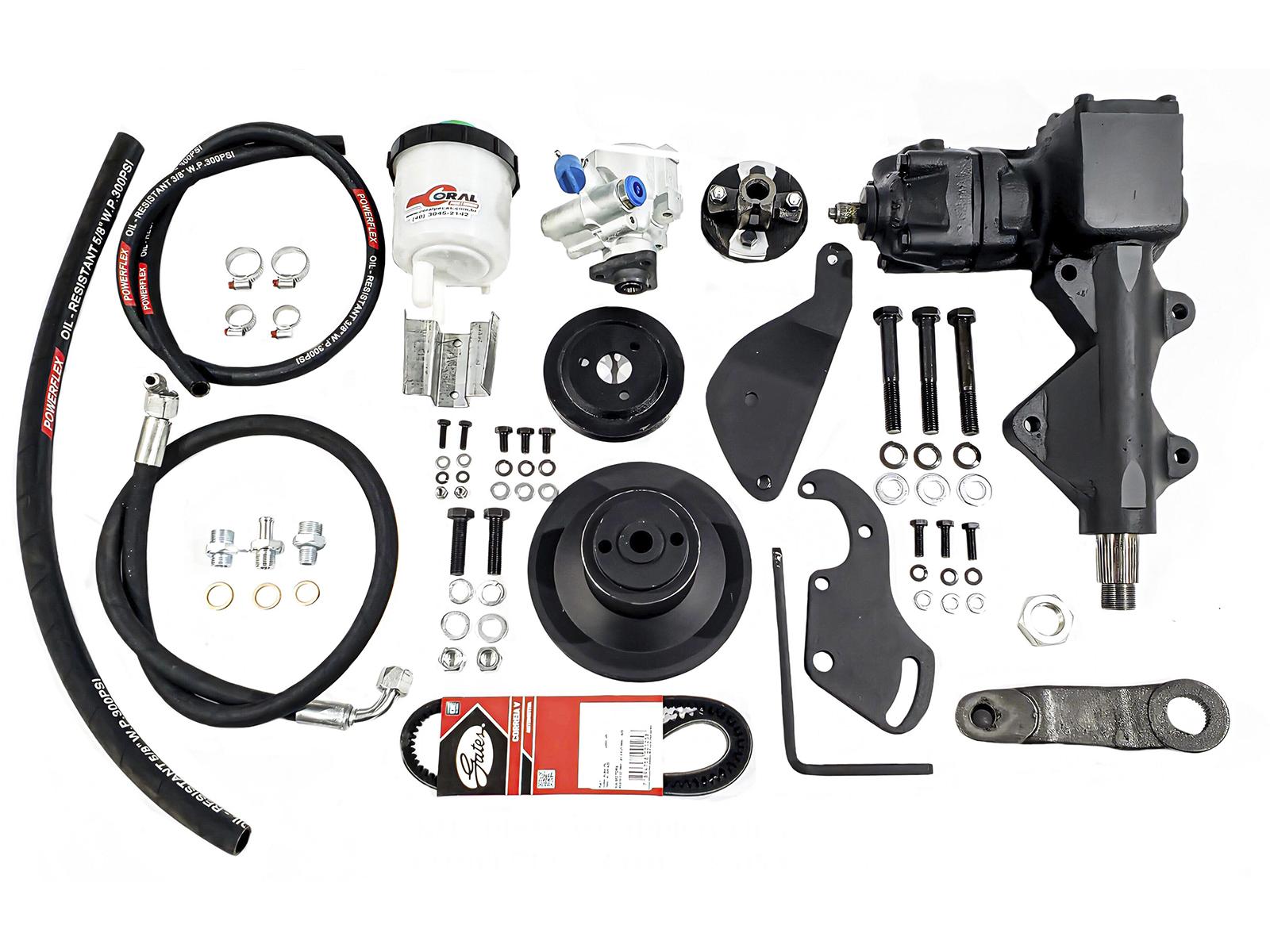 Kit Direção Hidráulica Ford F100 F1000 Motor V8 272 E 292