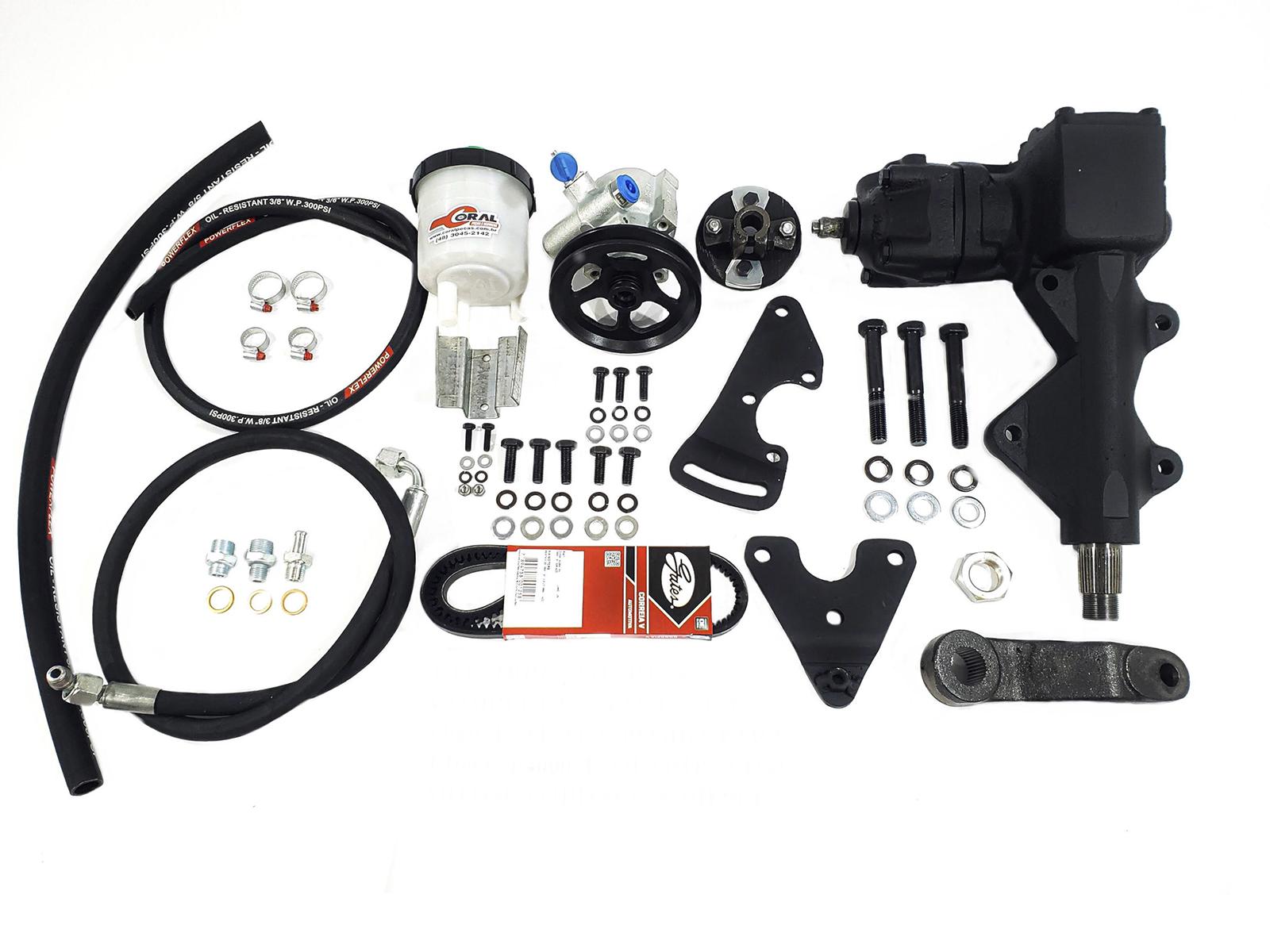 Kit Direção Hidráulica Ford F1000/ F4000 Motor Ford Diesel