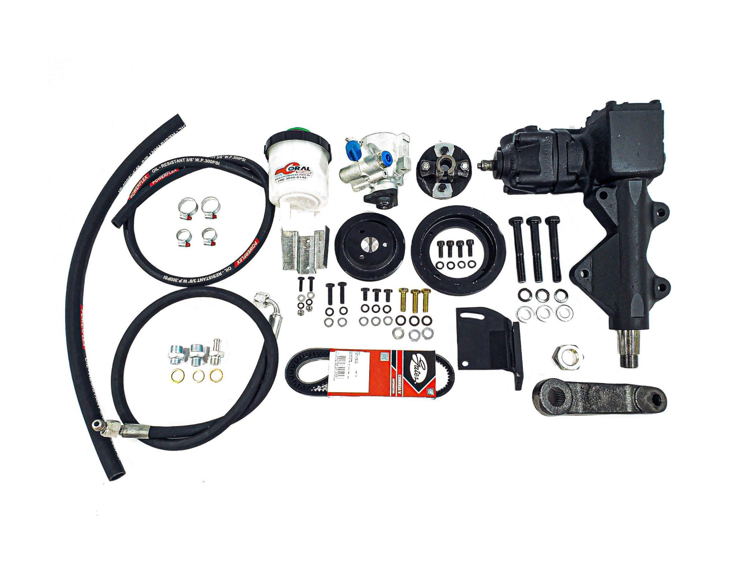 Kit Direção Hidráulica Ford F100/F1000 4 CC Gasolina (2.3 OHC)/ Álcool